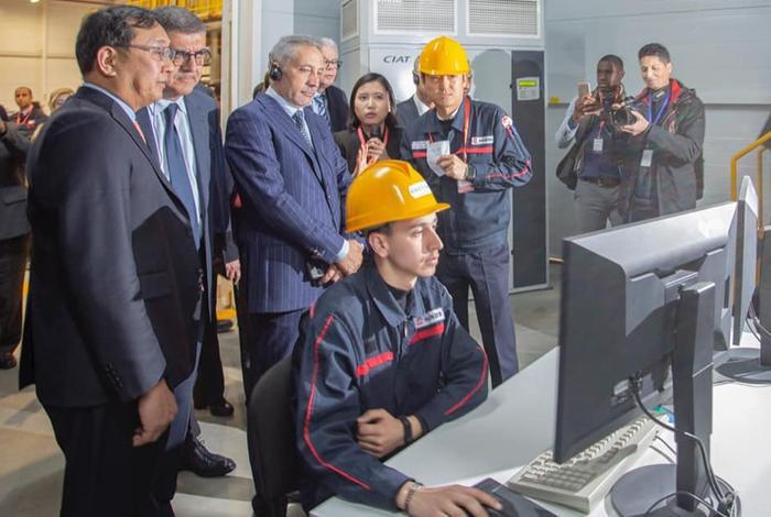 مجموعة كورية لصناعة معدات السيارات تفتتح مصنعا لها بطنجة