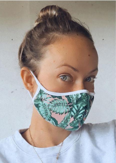 Oliva Wild en masque