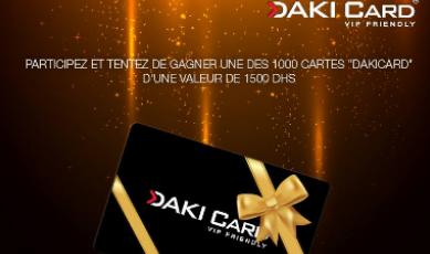 Dakicard lance son nouveau service