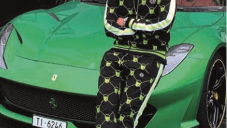 Philip Plein Ferrari 55 Remise Kantik Av Tr