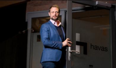 Damien Fournier, Directeur de l'agence Havas Suisse