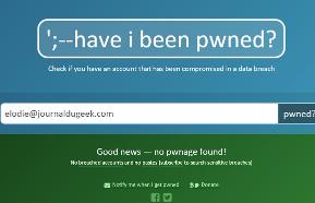 Un moteur de recherche qui vous permet de vérifier si votre...