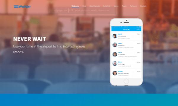 « WaitList » : Un concept conçu pour les voyageurs
