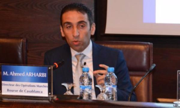 Ahmed Arharbi, directeur des opérations marché au niveau de la Bourse de Casablanca