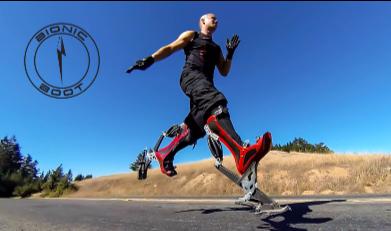 « Bionic Boot » : Des chaussures bioniques pour courir...