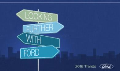 Tendance 2018 : Ford dévoile son rapport annuel