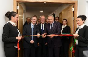 Inauguration des nouveaux locaux de Sofrecom, leader du conseil...