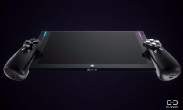 Curved imagine un PS4 Switch