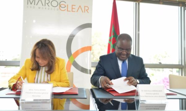Signature d'une nouvelle convention de partenariat entre le DC/BR et Maroclear