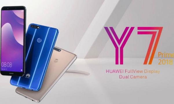Huawei dévoile son élégant smartphone HUAWEI Y7 Prime 2018