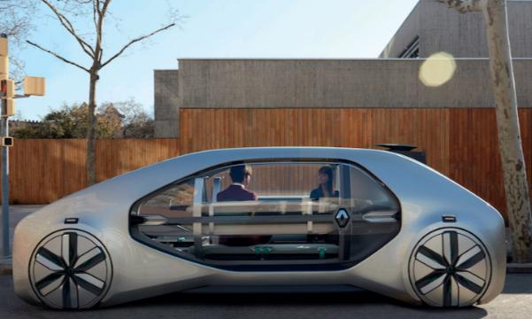 « EZ-GO » : Renault imagine un robot taxi qui vous ramène chez vous sans pilote !