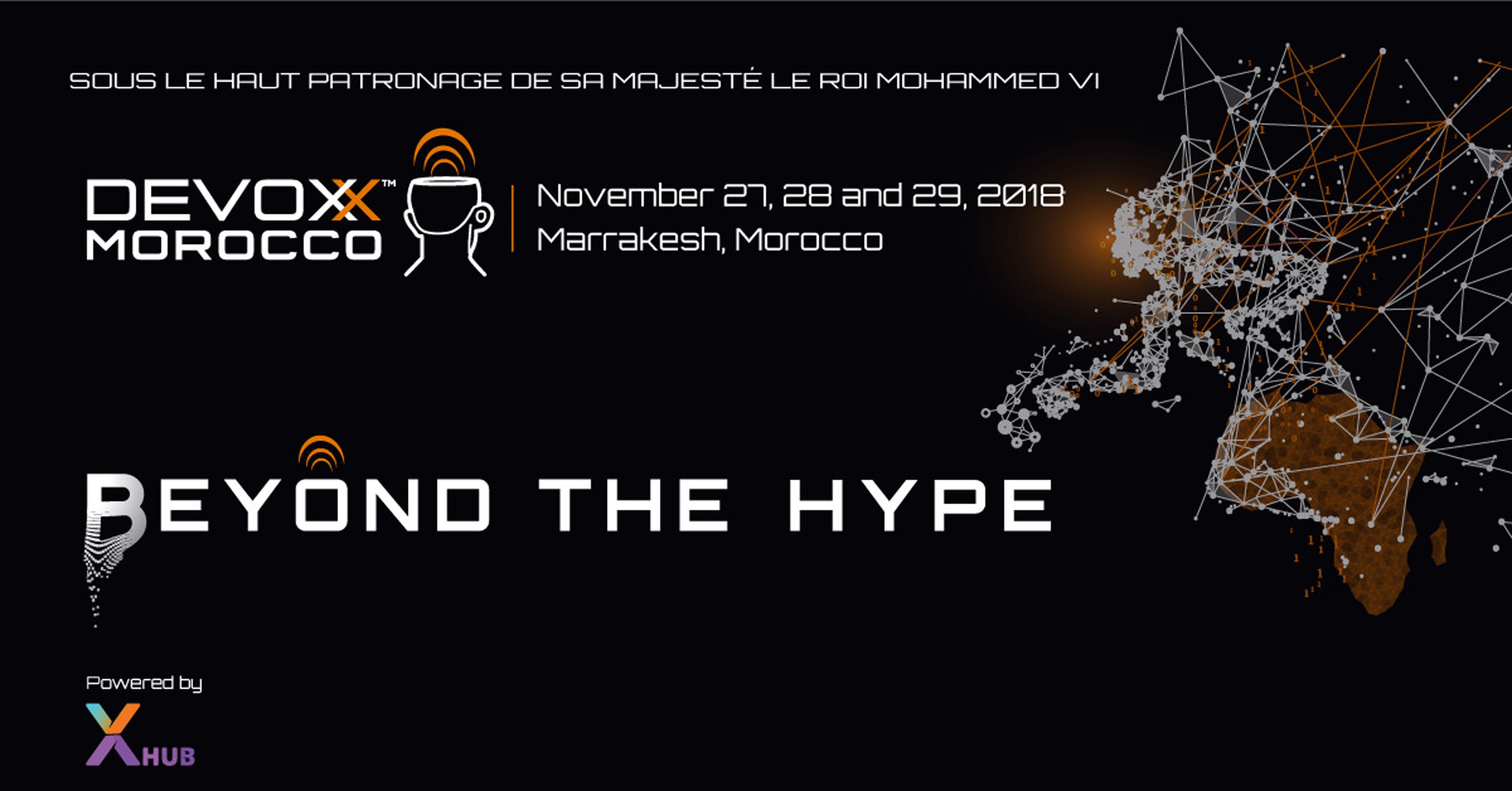 Devoxx Maroc 2018 organise la 7ème édition sous la thématique «Beyond the hype»