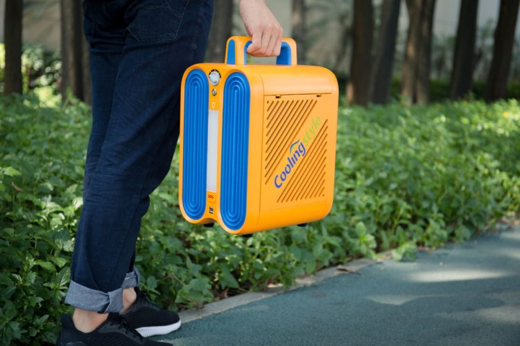 « CoolingStyle » : un climatiseur portable capable de refroidir...