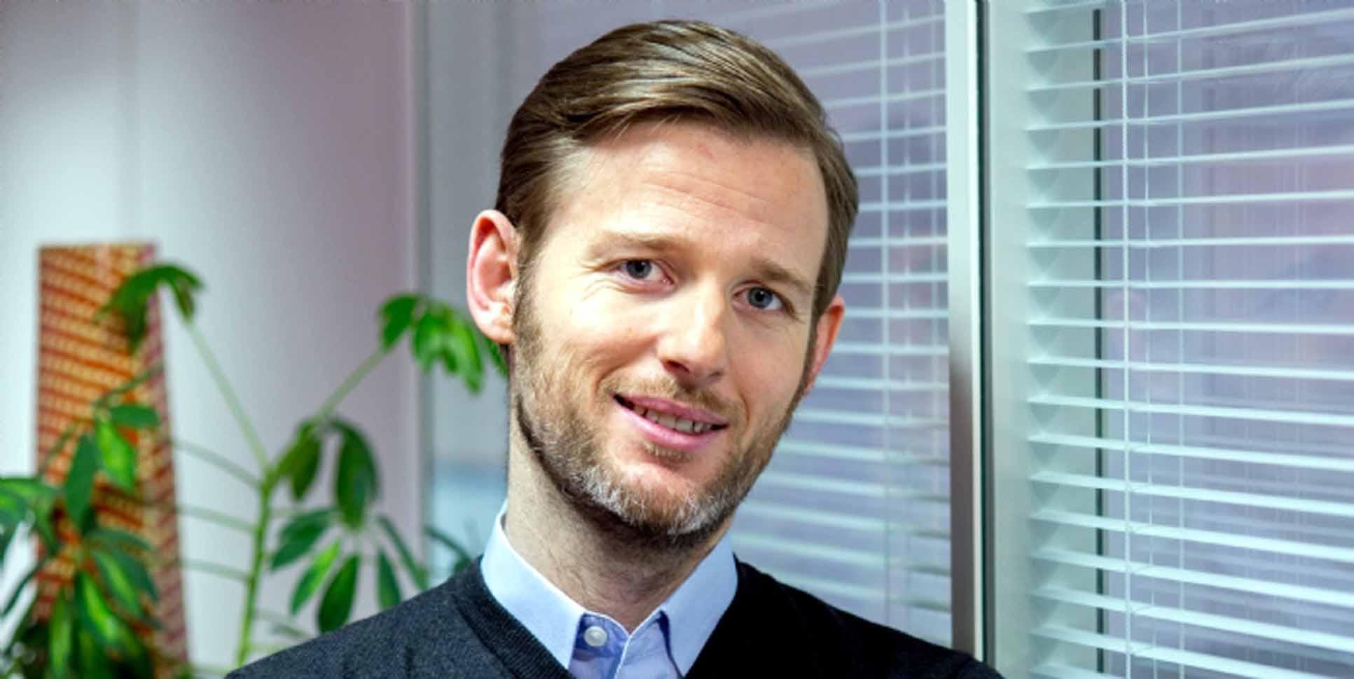 Jérôme Sutter, directeur digital international des laboratoires...