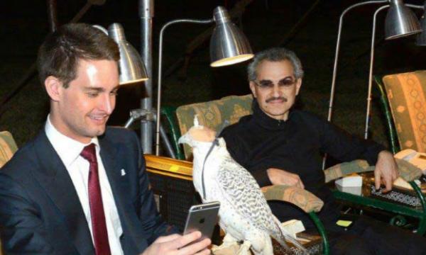 Al-Walid ben Talal, nouvel actionnaire de Snapchat