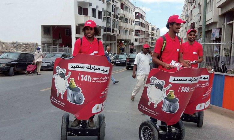 La société Derichebourg Maroc lance une campagne de street...