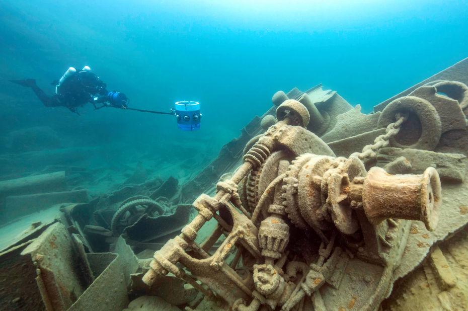 « Hydrus VR » : une caméra sous-marine pour la réalité...