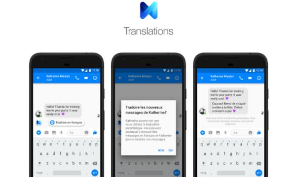 Facebook: Messenger traduit désormais automatiquement les...