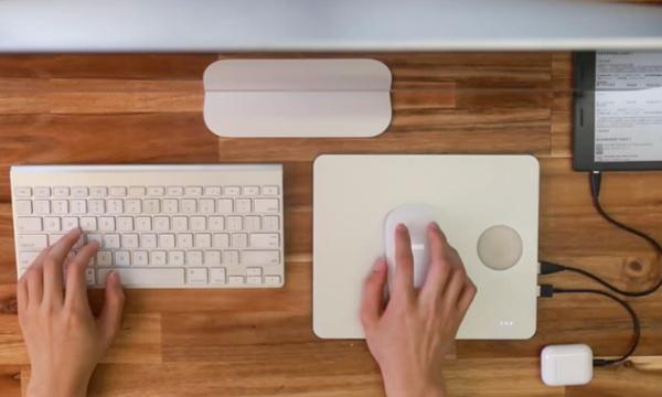 « PowerDock » : le tapis qui charge vos objets connectés