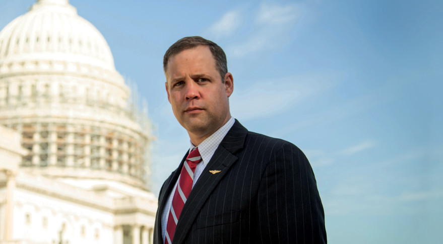 Jim Bridenstine,  Administrateur à la NASA