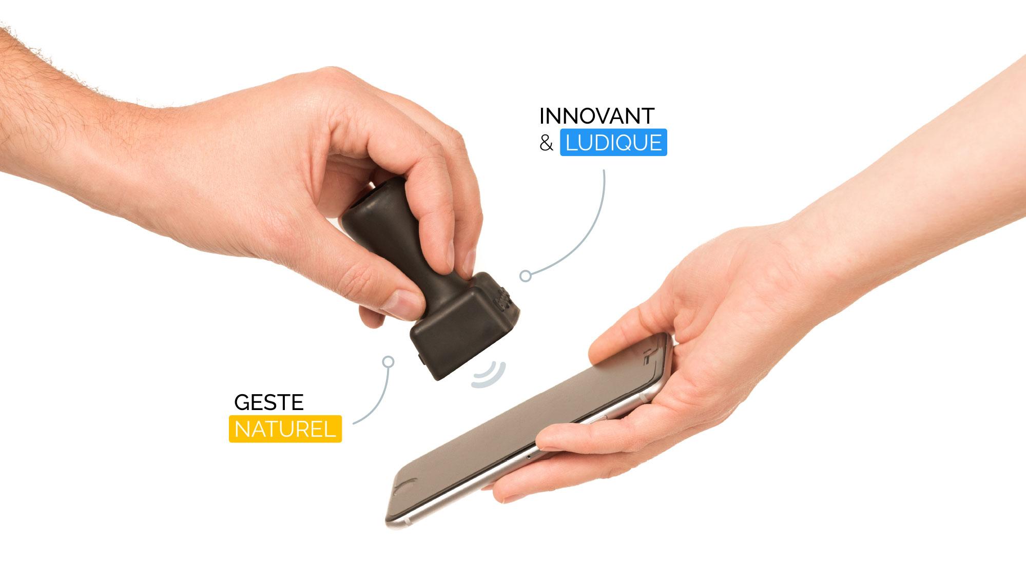 « Bystamp » : Le tampon connecté révolutionne l'authentification numérique