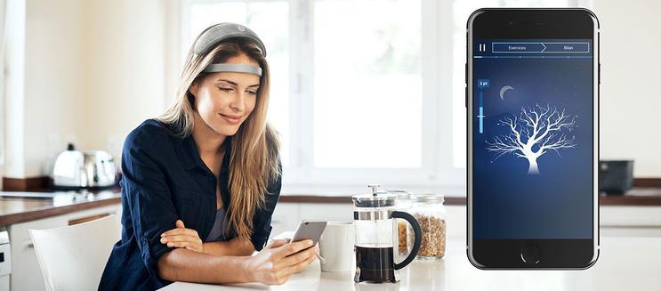 « URGONight » : un casque d'entraînement cérébral pour mieux dormir