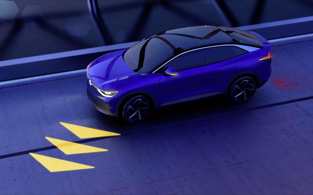 Volkswagen imagine des phares communicants