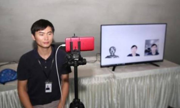 OPPO vient d'effectuer la première démo au monde d'appels vidéo 5G recourant à la technologie 3D à lumière structurée